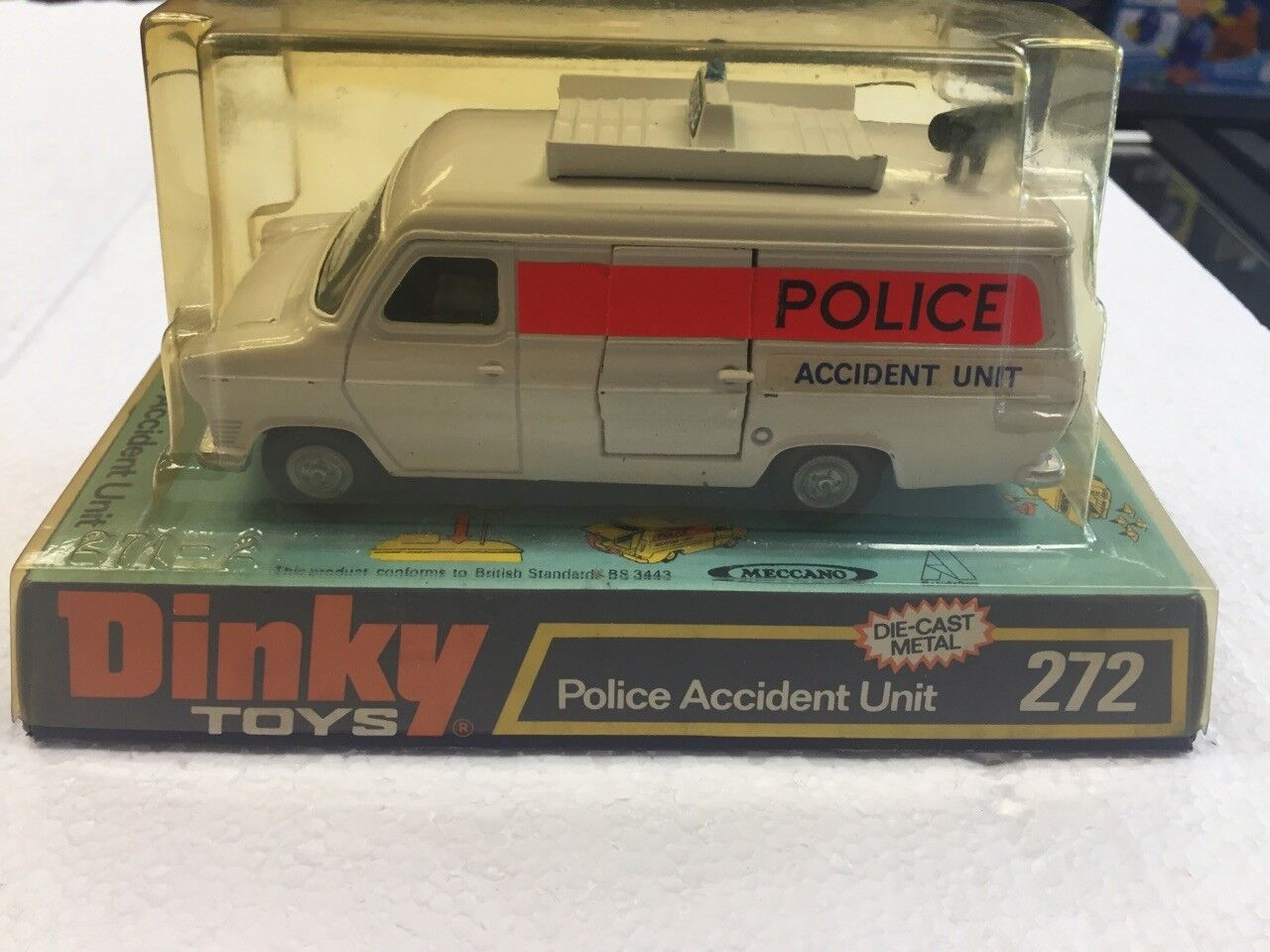 entrega rápida Dinky Juguetes accidente de Policía Unidad    272  Los mejores precios y los estilos más frescos.