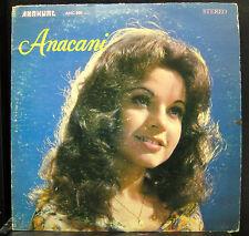 Anacani - Anacani LP VG+ ANC-880 Anahuac Records Stereo Pop Vinyl Record