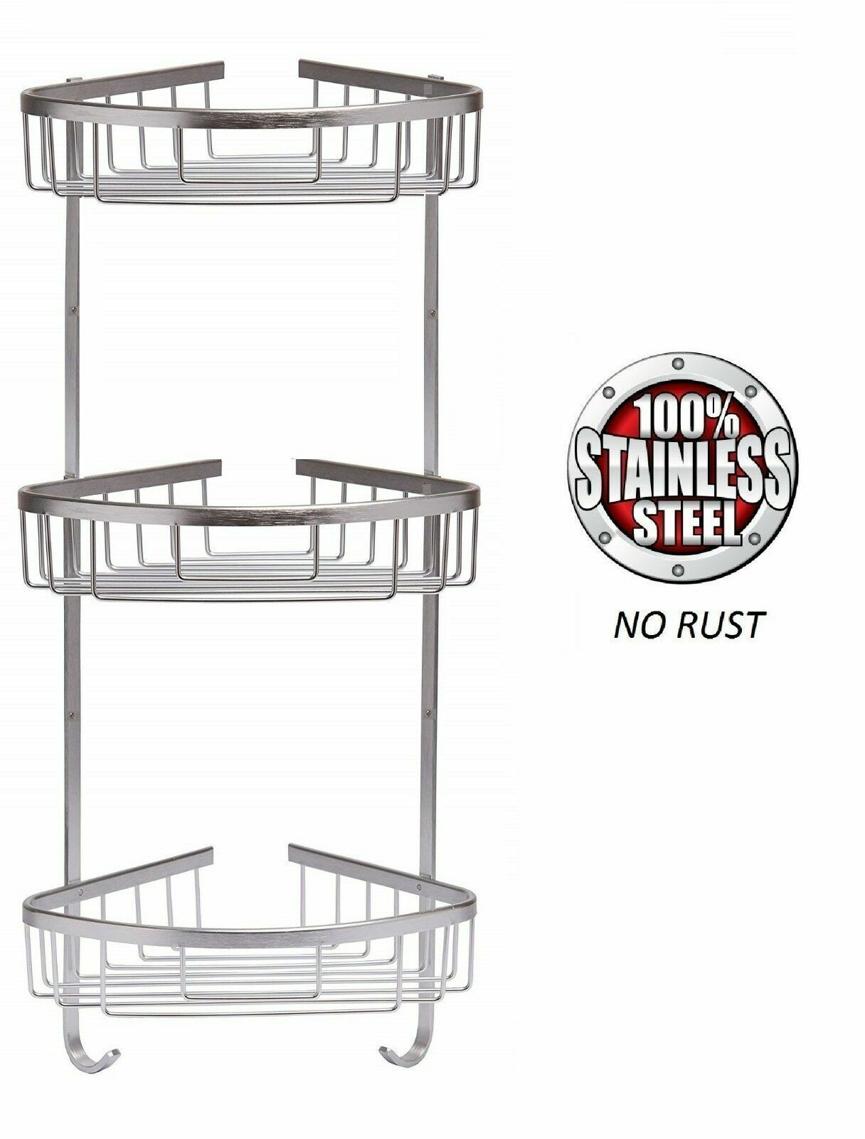 3 TIER STAINLESS STEEL