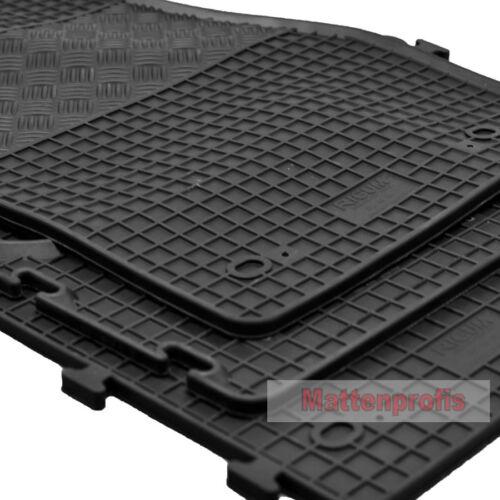 2003-2015 MP Gummimatten Gummifußmatten Komplettauslage für VW T5 Caravelle Bj