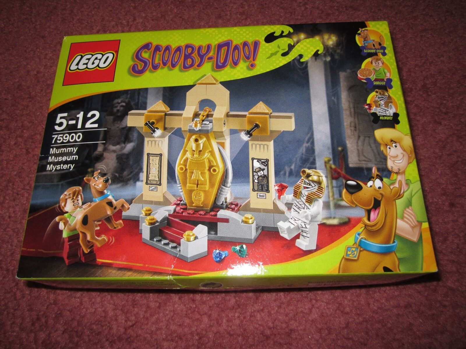 LEGO SCOOBY-DOO MUMMY MUSEUM MYSTERY 75900 DAMAGED BOX - SEE PHOTOS - NEW