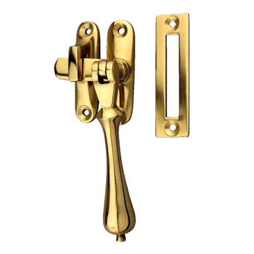 Delf Tear Drop Casement Window Fastener 0396PB Polished Brass