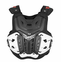 Leatt 4.5 Mx Dirt Bike Motocross Adult Chest Protector Black All Sizes