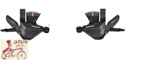 SHIMANO SL-M310 ALTUS RAPID FIRE 3 X 7 21 SPEED SHIFTER SET-NO OUTER HOUSING