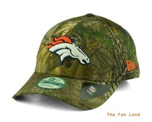 New-NFL-Denver-Broncos-New-Era-Mens-The-League-Realtree-Cap-Hat