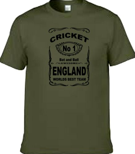 cricket England design t shirt