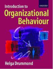 Introduction To Organizational Behaviour, Drummond, Helga   Paperback Book   Acc