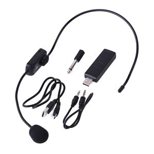 Microfoni-Wireless-Uhf-Stage-Wireless-Microfono-Sistema-Mic-per-Altoparlant-T1H8