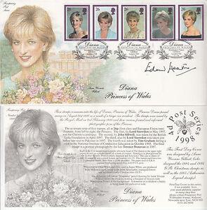 GB Diana Princess of Wales Fourpenny Post Series - Kensington Palace Gardens P/M