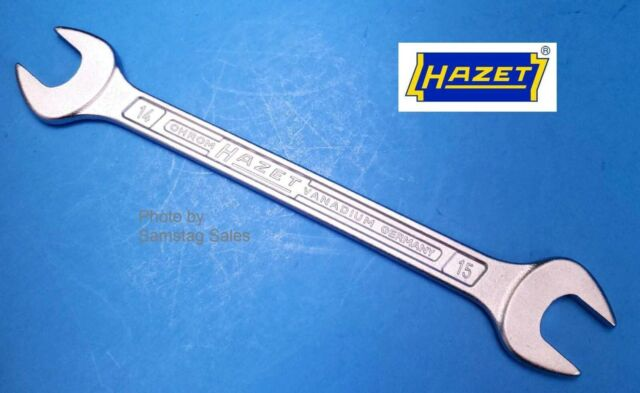 Hazet 450N 5 X 5 5 Open End Wrenches