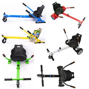 Hover-Go-Kart-Cart-Seat-Adjustable-Holder-Stand-Self-Balance-Balancing-Scooter