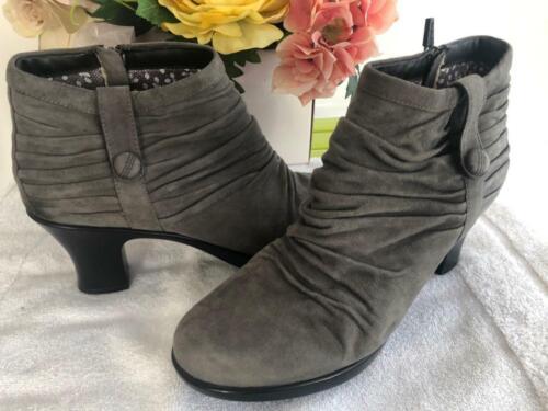 Dansko Buffy Women's Suede gray Boot Ankle 42 us12