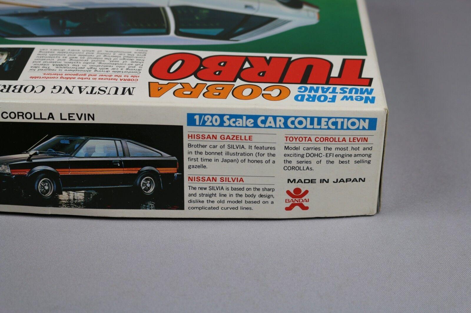 Zf1328 Bandai 1 20 Modell Auto Auto Auto 35253 Ford Mustang Cobra Turbo 97ade6