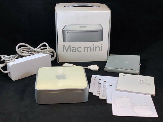 Apple Mac Mini (2005) 1.25 GHz PowerPC G4, 512MB RAM, 40GB HDD +Box - TESTED