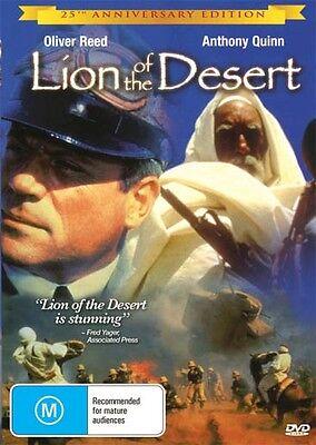 LION OF THE DESERT- ANTHONY QUINN - NEW & SEALEDDVD