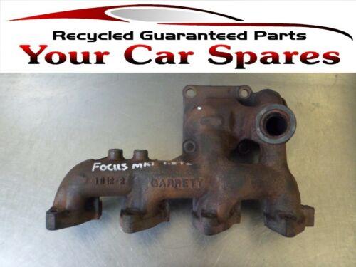 Ford Focus Exhaust Manifold 1.8cc TDDi Diesel Manual 98-04 Mk1