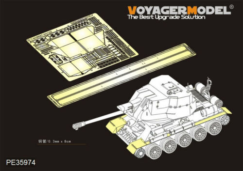 Voyager PE35974 1//35 T-34//85 /&T-34//122 Fenders For RFM 5013