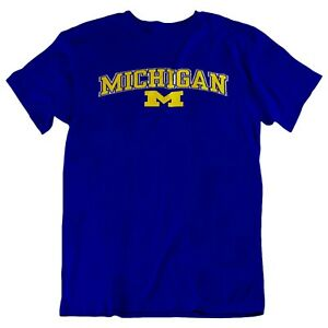 "/""NEW/"" Michigan Wolverines Unisex Premium Short Sleeve T-Shirt"