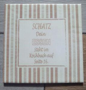 Dekofliese-Wandbild-Bildfliese-Essen-Spruch-Redewendung-055DP-Decoupage-Fliese