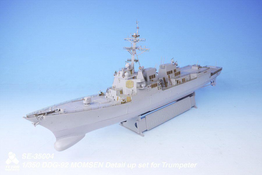 Tetra Model 1 350  SE-35004 USS Momsen DDG-92 Detail Up Set for Trumpeter