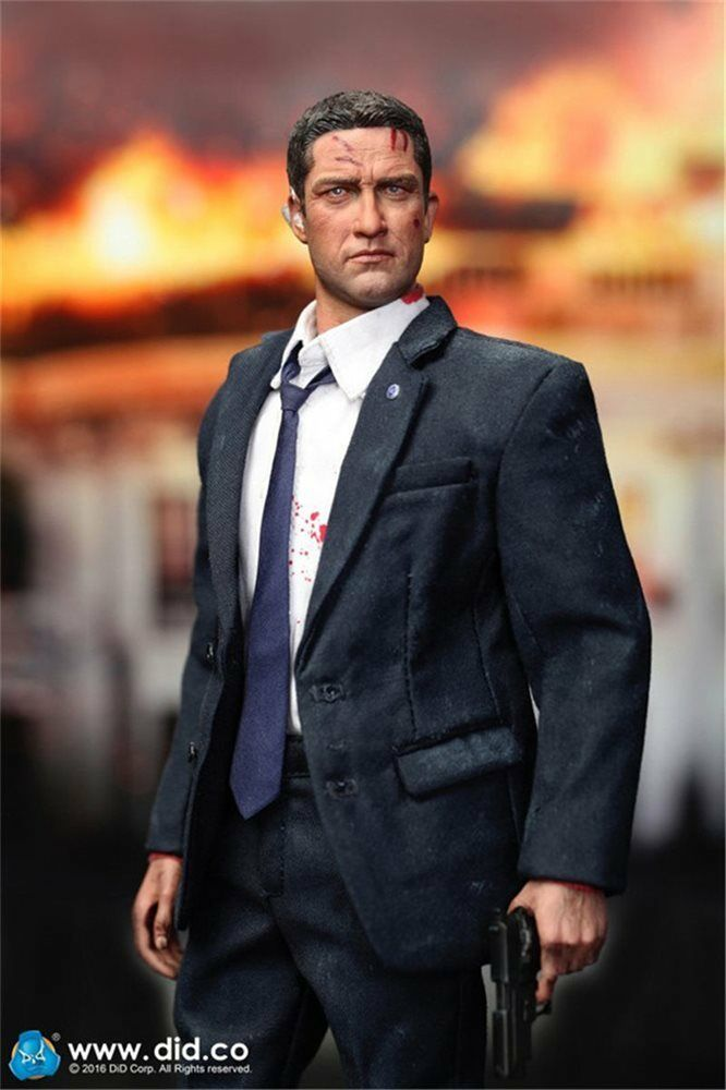 DID 1 6 Scale 12  US Secret Service Special Agent Mark Action Figure MA80119S
