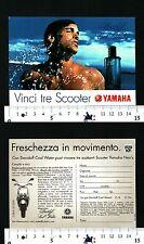 DAVIDOFF COOL WATER - FRESCHEZZA IN MOVIMENTO - VINCI TRE SCOOTER YAMAHA - 56521