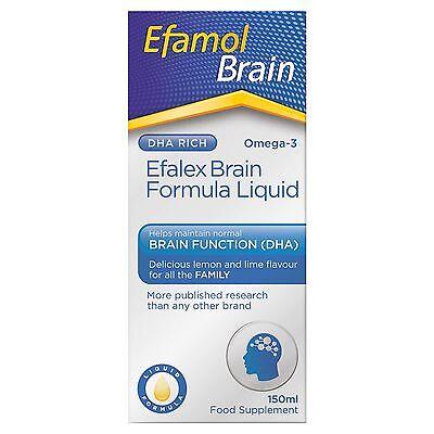 Efamol Efalex Lemon Lime Liquid (150ml)