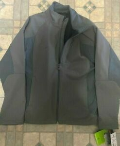 Free Country - Soft Shell Jacket, Charcoal Men, size Large - Brand New!