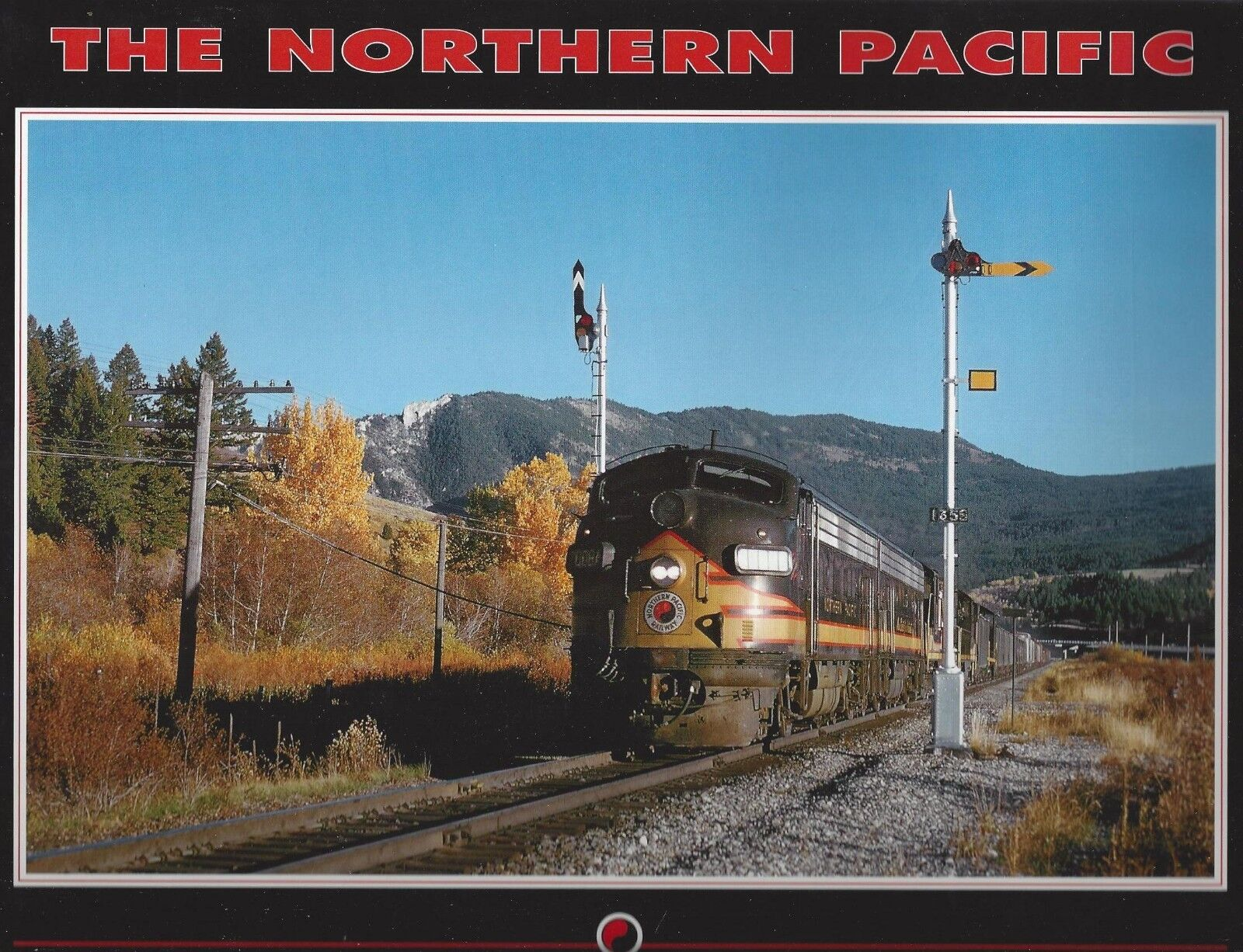 The Northern Pacific  Great Laghi a Northwest Ferroviario Sistema  Nuovo Libro