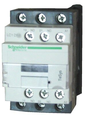 Schneider Electric LC1D12 G7 12 AMP contactor 120v AC coil