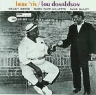 Here 'Tis [RVG] by Lou Donaldson (CD, Mar-2008, Blue Note (Label))