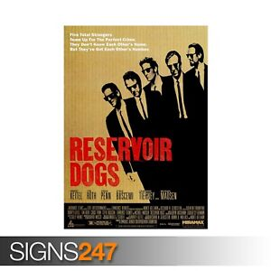 RESERVOIR-DOGS-TARANTINO-CULT-CLASSIC-ZZ074-MOVIE-POSTER-Poster-A0-A1-A2-A3
