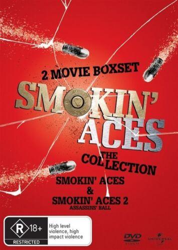 1 of 1 - Smokin Aces / Smokin Aces 2 - The Assassins Ball (DVD, 2010, 2-Disc Set)