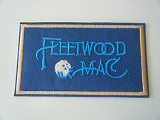 FLEETWOOD MAC PATCH Embroidered Iron On Badge Classic Rock Band Logo NEW