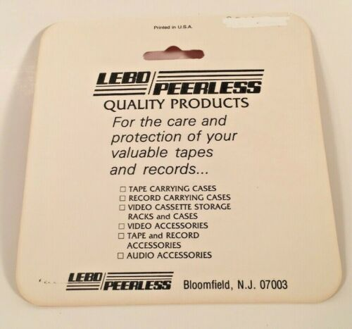 Vintage 1970s //// LEBO //// 5 Piece 45 RPM Record Adapters //// Made in the U.S.A