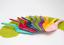 RBV-Birkmann-Tortenheber-Kuchenheber-Colour-Splash-in-rot-Kunststoff Indexbild 2