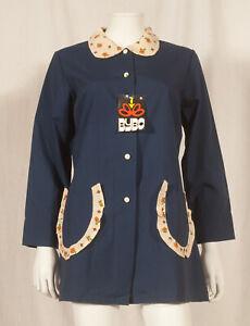 Annees-60-Francais-Vintage-TABLIER-Robe-UK-14