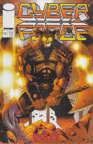 Cyberforce Splitter Verlag Nr.17 Buchhandelsausgabe 1998 Marc Silvestri