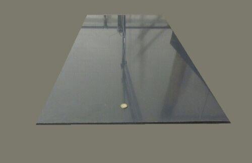 "PVC Sheets Thick x 24/"" Wide x 48/"" Length Gray 3//8/"" .375/"""