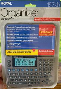 Royal-Business-Machines-Electronic-Organizer-DM3070SP-192KB