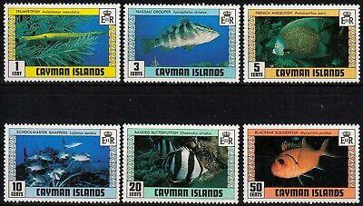 424/29 ** Fische Senility VerzöGern Karibik Vornehm Kaiman-inseln Minr