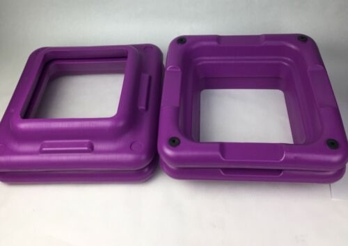 Health Club Size The Step Original Aerobic Risers Only Set Of 4 Units