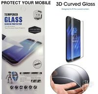 Samsung galaxy S8 Plus 3D Edge Clear Tempered Glass Screen Protector