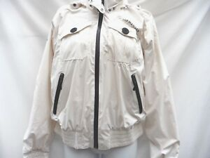 By Size elasticated 12 Helly Waterproof Ivory Hood Cuff Hansen Concealed Jacket wS8TxRSq
