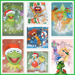 TOPPS-DISNEY-Collect-The-Muppets-Christmas-Complete-Set-1-Award