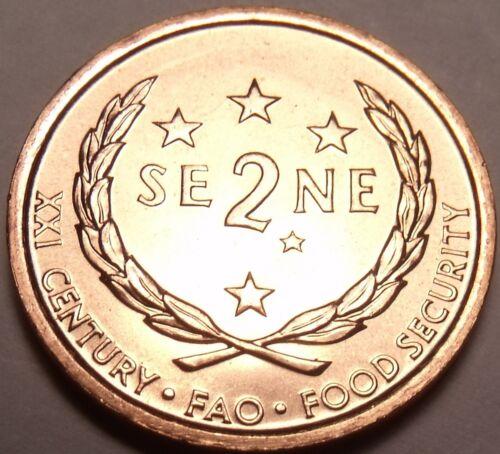 Western Samoa 2000 F.A.O Issue 2 Sene Gem BU~Free Shipping