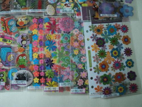 Lote de 100 paquetes EK Success Sticko Stickers sin duplicados BNIP Para ver *