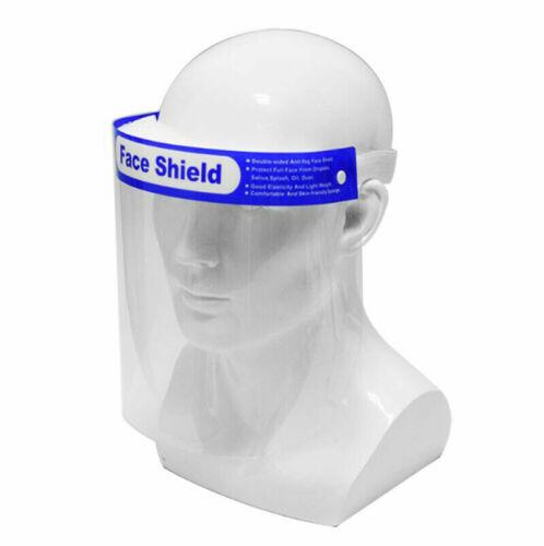 Visage Complet Visière PPE Bouclier Splash Guard Antifog face Protector Guard