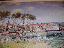 GRANDE POSTER-surreale paesaggio rurale. 70 x 50 cm-fantastico regalo.