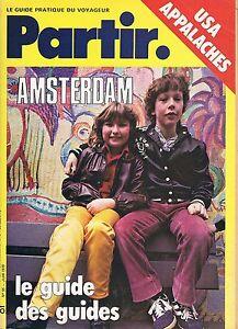 Partir - N°55 - Juin 1979 - Usa Appalches Amsterdam